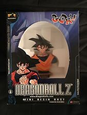 New Rare Dragon Ball Z Goku Mini Resin Bust Statue NIB Dbz Anime Figure