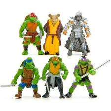 Gift 6Pcs Teenage Mutant Ninja Turtles TMNT Action Figures Collection Toys Set