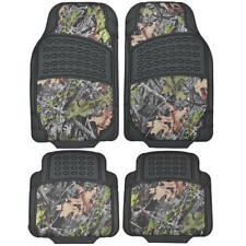 Camouflage Rubber Camo Floor Mats - All Types of Weather - 4 Piece Waterproof