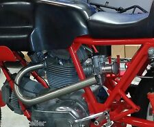 DUCATI BEVEL 750 900 SPORT SS IMOLA NCR DUAL HIGH PIPES EXHAUST CAFE RACER