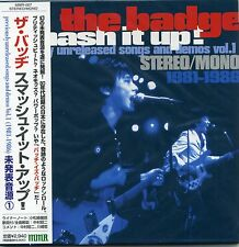 The Badge - Smash It Up! CD RARE TRACKS Vol.1 1981-86 Shamrock Japan Power Pop