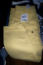 NWT $70 NAUTICA TAPERED FIT CARGO JEANS CANYON GOLD 40X30