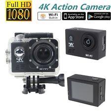 SJ8000 16MP WiFi Caméra de Sport-Action DV Caméscope Etanche Plein HD 4K@30fps