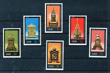 Alemania DDR Relojes Serie del año 1975 (CM-267)