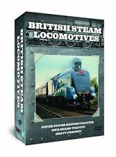 British Steam Locomotives (New 3 DVD Box Set ) Railways Engines Heavy Freight