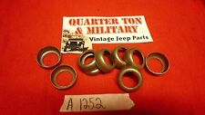 Jeep Willys MB GPW CJ2A NOS Grease seal retainer ring for U-shackles X4