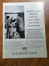 1962 Allstate Life Insurance Ad You'll be glad Allstate put the Sears Idea into