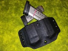 DOUBLE MAG HOLSTER BLACK KYDEX Kahr P380 CW380 Outside Waistband OWB