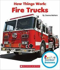 Fire Trucks (Rookie Read-About Science: How Things Work)