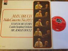 ASD 2852 Bruch Violin Concertos Nos. 1 & 2 / Menuhin / Boult