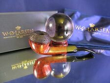 BRAND NEW W.O.Larsen Bulldog, HAND MADE in Denmark w/ Box and Sock  Stock #DS3