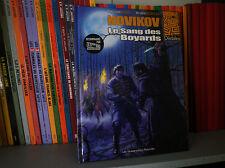 Novikov - Le Sang des Boyards - Ed Originale - BD COMME NEUF