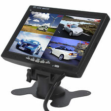 "7"" TFT LCD Car Rear View Monitor 4 Split 4Ch Video Input for Rear View Camera"