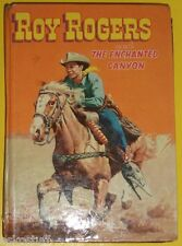Roy Rogers & The Enchanted Canyon 1954 Whitman Juvenile book Nice See!
