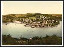 2 Victorian Views Dartmouth Castle Kingswear Mouth of Dart River Old Photos New