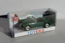 MG 1600 SPORT VERDE GREEN 1/87 TOYEKO TOY EKO