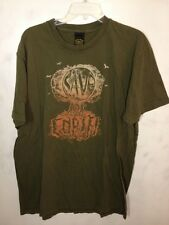Lucky Brand Save The Earth Shirt - Green - Tree - XL