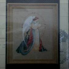 Guardian Angel Lavender & Lace Victorian Designs Chart Only for 32 ct Linen