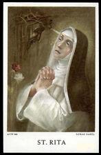 "santino-holy card""S.RITA DA CASCIA"