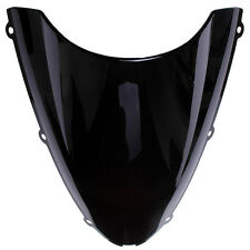 Bulle double courbure KAWASAKI ZX6R 2005 2006 2007 2008 NOIR WINDSCREEN BLACK