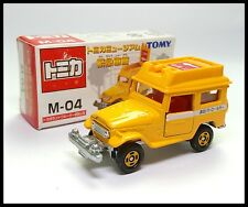 TOMICA MUSEUM M-04 TOYOTA LAND CRUISER 1/60 TOMY DIECAST CAR NEW ( BOX OLD )