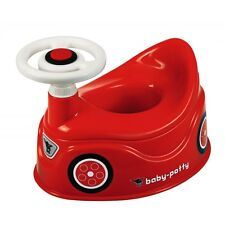 BIG Baby-Potty Töpfchen Auto mit Lenkrad Toilettensitz Toilettentrainer rot