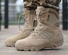 Military Tactical Ankle Boots Cordura Desert Combat Army Hiking Shoes
