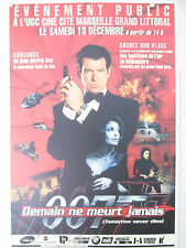 TOMORROW NEVER DIES SPECIAL FRENCH ADVANCE OPENING POSTER