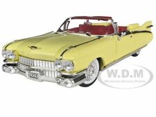 1959 CADILLAC ELDORADO BIARRITZ YELLOW 1:32 MODEL CAR BY SIGNATURE MODELS 32350