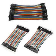120pcs Dupont Wire Male to Male Male to Female Female to Female Jumper Cable LA