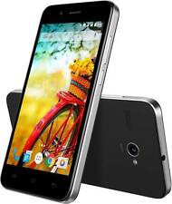 Lava Iris Atom(Black,)Android Lollipop v5.1, 8 GB ROM,