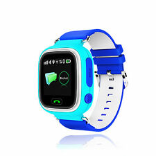 Touch Screen Smartwatch Kinder SOS SIM Handy Uhr GPS LBS Tracker für Android IOS