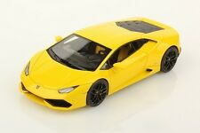 LOOKSMART - Lamboghini Huracan LP610-4 jaune version cache moteur 2014  1/43