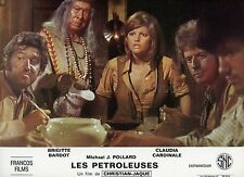 SEXY CLAUDIA CARDINALE LES  PETROLEUSES  1971 VINTAGE LOBBY CARD #22