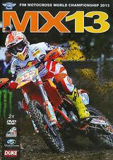 FIM Motocross: World Championship 2013 - MX13 (DVD, 2014, 2-Disc Set)