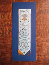 Cash's Woven Bookmark ROYAL WEDDING Prince Charles Lady Diana Spencer July 1981