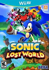 Sonic Lost World [Nintendo Wii U Sega Spin Dash Action Fun] Brand New Sealed