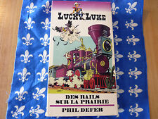 VHS French Movie Des Rails sur la Prairie + Phil Defer ! Lucky Luke No. 5 !