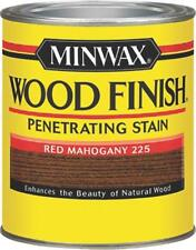 NEW MINWAX 22250 RED MAHOGANY INTERIOR OIL BASED WOOD FINISH STAIN 7969462