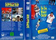 VHS Spike Lee`s - Do the Right THING 1989) Danny Aiello - CIC
