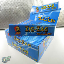 ZIGZAG ZIG ZAG Slim Size Cigarette Tobacco Rolling Paper Papers Roller Roll RYO