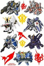 Gundam Skateboard Snowboard Luggage Car Bike Vinyl Stickers F0072