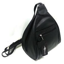 100% Genuine Cowhide Leather Women Lady Casual Shoulder Bag Cross Backpack New