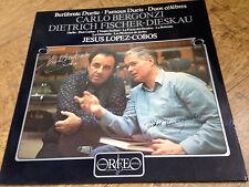Carlo Bergonzi Dietrich Fischer-Dieskau Jesus Lopez-Cobos Vinyl LP