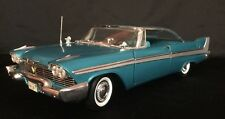 1/18 Ertl 1958 Plymouth Belvedere Teal Blue No Box