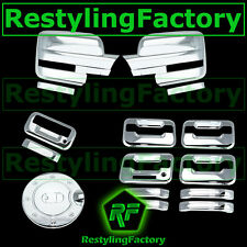 09-14 Ford F150 Chrome Mirror+4 Door Handle+keypad+no PSG KH+Tailgate+GAS Cover