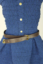 *GUCCI* VINTAGE ANGULAR G BUCKLE BELT SIZE 95/38