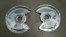 OPEL MANTA VAUXHALL CHEVETTE CAVALIER MK1 NEW FRONT BRAKE SHIELD SET NEW PAIR
