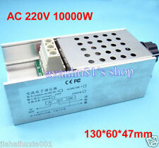 110v 220V 10000W SCR Voltage Regulator Motor Speed Controller Dimmer Thermostat