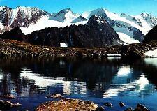 Bergsee in den Stubaier Alpen , Ansichtskarte, gelaufen